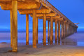 Scripps Pier - California Royalty Free Stock Image