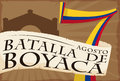 Scroll over Number for Colombian National Day: Boyaca`s Battle, Vector Illustration