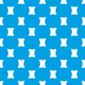 Scroll pattern seamless blue