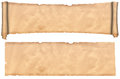 Scroll And Sheet Of Old Paper.