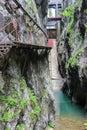 Scropoasa Water Dam, Bucegi Mountains Royalty Free Stock Photo
