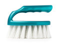 Scrub brush isolated on white background side view Stock Images