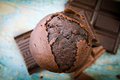Scrumptious Chocolate Muffin Royalty Free Stock Photos