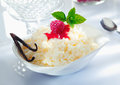 Scrumptious rice dessert Royalty Free Stock Images