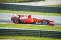Scuderia Ferrari Marlboro Formula One Felipe Massa Royalty Free Stock Photo