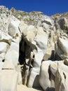 Sculpted Rocks Royalty Free Stock Photos