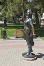 Sculpture Assol on the promenade in resort city Gelendzhik, Krasnodar region, Russia