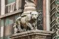 Sculpture composition of Duomo Santa Maria del Fiore, Florence Royalty Free Stock Photo