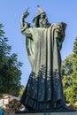 Sculpture croatian bishop Gregorius of Nin Royalty Free Stock Photo