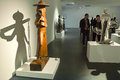 Sculpture exhibition the twelfth national of fine arts of was held in taiyuan museum of art in shanxi china during Stock Photography