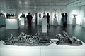 Sculpture exhibition the twelfth national of fine arts of was held in taiyuan museum of art in shanxi china during Stock Photo