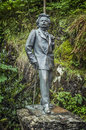 The sculpture of the famous Norwegian composer Edvard Grieg Royalty Free Stock Photo