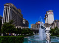 Sculpture and fountain of caesars palace hotel in las vegas Stock Photo