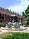 Sculpture fountain turtles john mable ringling museum art sarasota florida Stock Photo