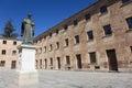 Sculpture of fray luis de leon salamanca castilla y spain Stock Photos