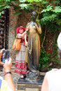 Sculpture of juliet verona italy in by shakespeare s romeo and Stock Photo