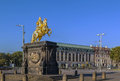 Sculpture of King August, Dresden, Germany Royalty Free Stock Photo