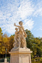 Sculpture in lasienki krolewskie park royal bath park warsaw poland Royalty Free Stock Image
