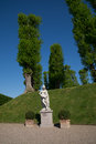 Sculpture in the park of Frederiksborg Slot Palace, Hillerod, Denmark Royalty Free Stock Photo