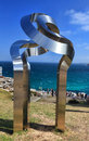 Sculpture by the sea exhibit at bondi tamarama november annual cultural event that showcases artists from around world titled Stock Photo
