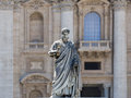 Sculpture of St. Peter Stock Photography