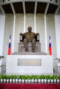 Sculpture of Sun Yat-sen Royalty Free Stock Images