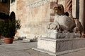 A sculpture in verona italy Royalty Free Stock Image