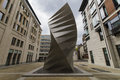 Sculptured air vents by thomas heatherwick located between paternoster square and ave maria lane london Stock Photos