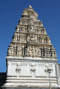 Sculptured Temple Tower Royalty Free Stock Images