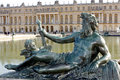 Sculptures of the garden of the Palace of Versailles Royalty Free Stock Photo
