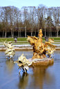 Sculptures of the garden of the palace of versailles or simply is a royal château in in île de france region france in french Royalty Free Stock Photography
