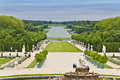 Sculptures in the garden of the Versailles Palace Royalty Free Stock Photo
