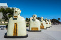 Sculptures in San Diego, California Royalty Free Stock Photo
