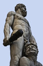 Hercules and Cacus Sculpure Florence Royalty Free Stock Photo