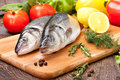 Sea Bass Royalty Free Stock Photo