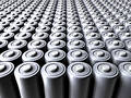Sea of Batteries Royalty Free Stock Photography
