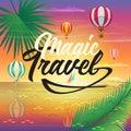 Sea Beach Summer Voyage adventure hot air balloons