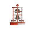 Sea Bell Buoy Vector Illustration