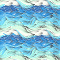 Sea Big Pattern Gradient 2