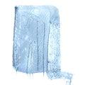 Sea blue background. Grunge surface pattern design. Washes texture.