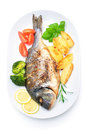 Sea bream fish Stock Photo