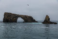Sea Cave And Arch