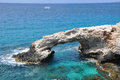 Sea caves ayia napa cyprus Royalty Free Stock Photo