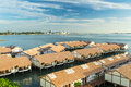 Sea chalet tropical at port dickson malaysia Royalty Free Stock Images
