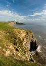 Sea Cliffs Stock Photo
