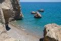 Sea coast,Turkey. Royalty Free Stock Image