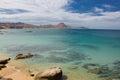 Sea of cortez baja california mexico beach in cabo pulmo Stock Photo
