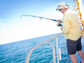 Sea Fishing Stock Image
