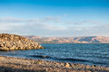 Sea of galilee taken from north part near capernaum israel Royalty Free Stock Photography