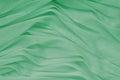 Sea green drapery makes beautiful background Royalty Free Stock Image